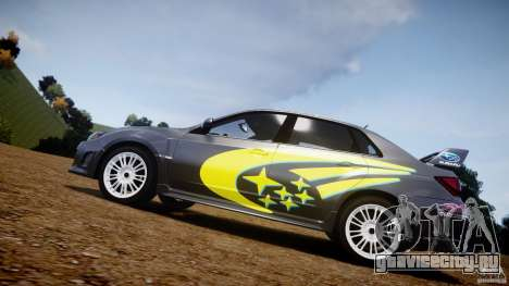 Subaru Impreza WRX STi 2011 Subaru World Rally для GTA 4