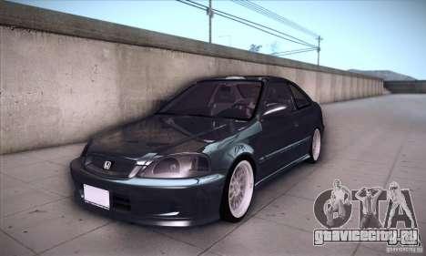 Honda Civic 6Gen для GTA San Andreas