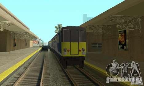 Cerberail Train для GTA San Andreas вид слева
