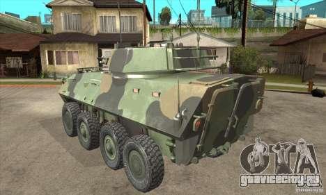 LAV-25 для GTA San Andreas вид сзади слева