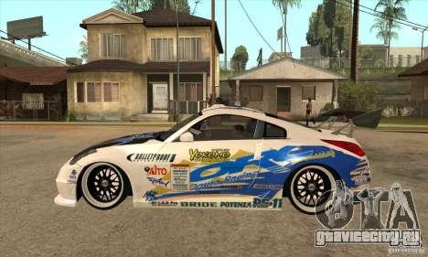 Nissan Z350 - Tuning для GTA San Andreas вид слева