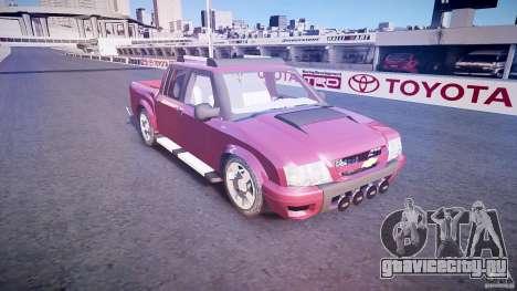 Chevrolet S10 для GTA 4 вид изнутри