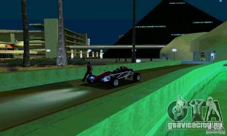 Ariel Atom для GTA San Andreas вид сзади