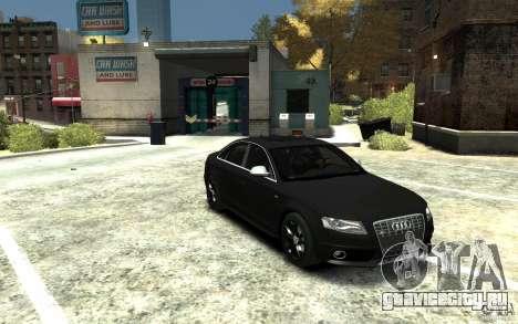 Audi S4 2010 v.1.0 для GTA 4 вид сзади
