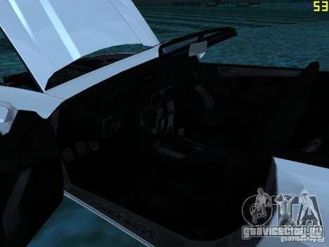 GTA IV Feltzer для GTA San Andreas вид сзади