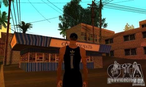 Русская текстура двухэтажного дома для GTA San Andreas четвёртый скриншот