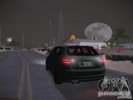 Audi RS3 2011 для GTA San Andreas вид снизу