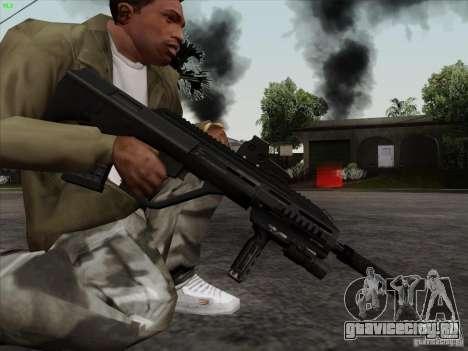 AUG-A3 Special Ops Style для GTA San Andreas четвёртый скриншот