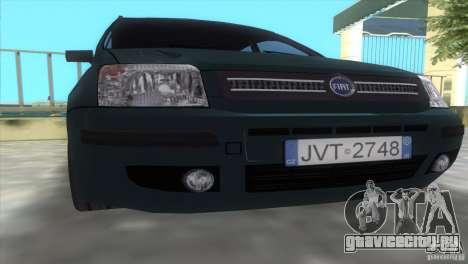 Fiat Panda 2004 для GTA Vice City вид справа