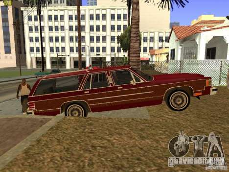 Mercury Grand Marquis Colony Park для GTA San Andreas вид сзади слева