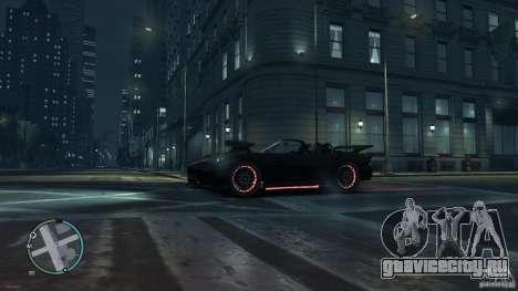 Red Neon  Banshee для GTA 4 вид сзади слева