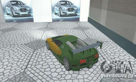 Bugatti Veyron 2005 для GTA San Andreas вид слева