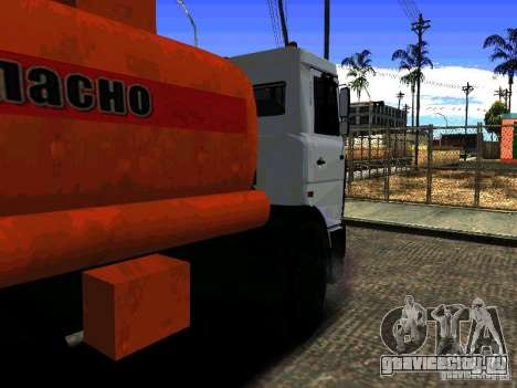 МАЗ 533702 Бензовоз для GTA San Andreas вид слева