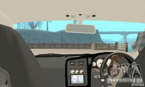 Nissan Stagea GTR для GTA San Andreas вид сверху