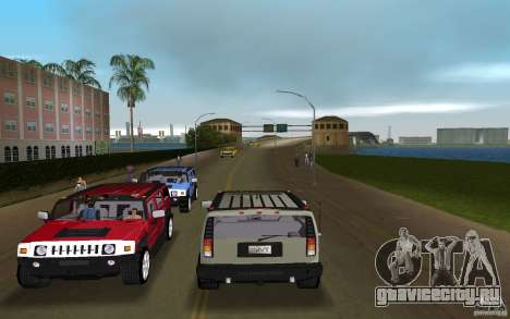 AMG H2 HUMMER для GTA Vice City