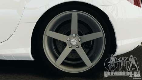 Mercedes-Benz SLK 2012 v1.0 [RIV] для GTA 4 вид сверху