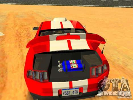 Ford Shelby GT500 для GTA San Andreas двигатель