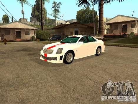 Cadillac CTS 2003 Tunable для GTA San Andreas вид сверху