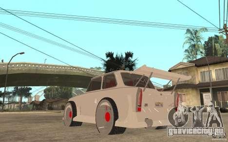 Trabant 601 Hardcore Tuning для GTA San Andreas вид сзади слева