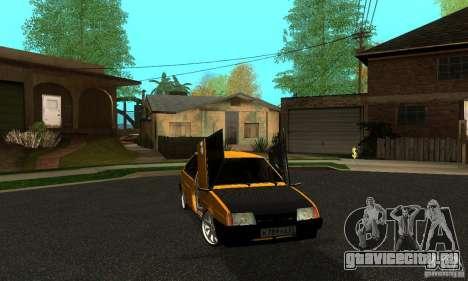 ВАЗ 2109 Light Tuning для GTA San Andreas вид сзади слева