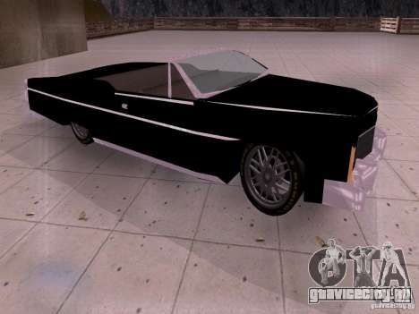 Cadillac Deville 1974 для GTA San Andreas вид слева