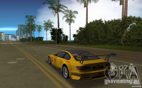 BMW M3 GT2 для GTA Vice City вид слева