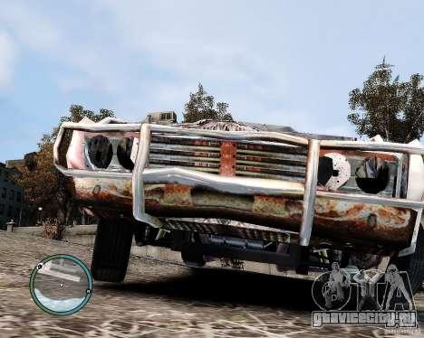 Flatout Shaker IV для GTA 4 вид сзади