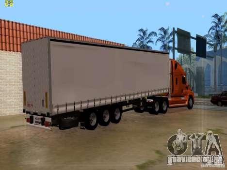 Freightliner Cascadia для GTA San Andreas вид слева