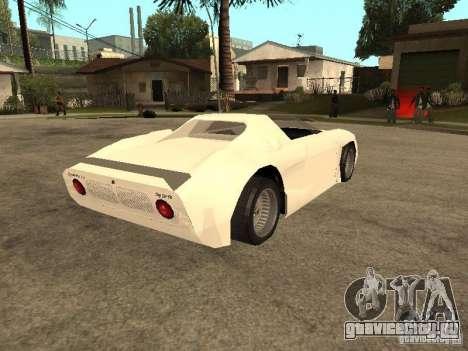 Cup Car для GTA San Andreas вид справа