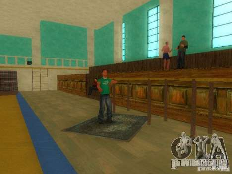 Tricking Gym для GTA San Andreas третий скриншот
