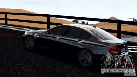 BMW M5 F10 2012 для GTA 4 вид слева