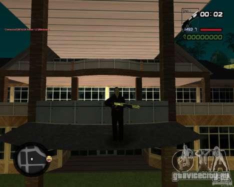 Shotgun Gold для GTA San Andreas третий скриншот
