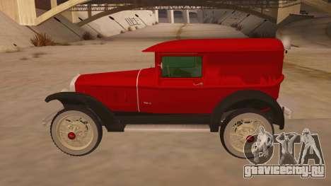 Pearce 1931 для GTA San Andreas вид слева