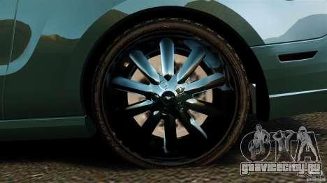 Ford Mustang Boss 302 2013 для GTA 4 вид сбоку