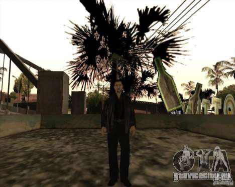 Белые Грувы для GTA San Andreas пятый скриншот