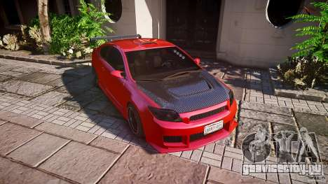 Toyota Scion TC 2.4 Tuning Edition для GTA 4 колёса