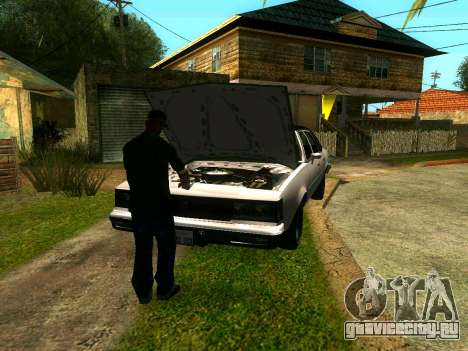 Друзья Сиджея на Грув для GTA San Andreas четвёртый скриншот