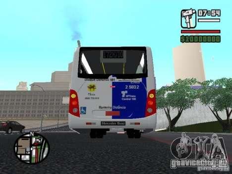 Induscar Caio Apache VIP II Mercedes-Benz 1722M для GTA San Andreas