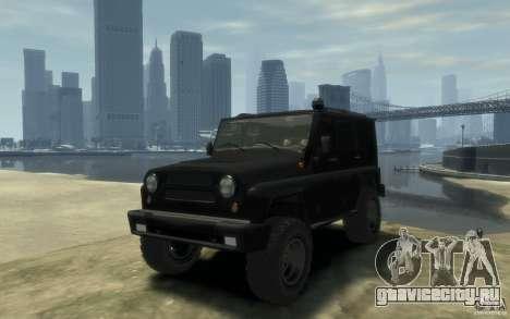 UAZ Hunter final для GTA 4