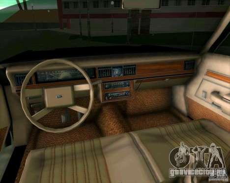 Ford Crown Victora LTD 1985 для GTA Vice City вид сбоку