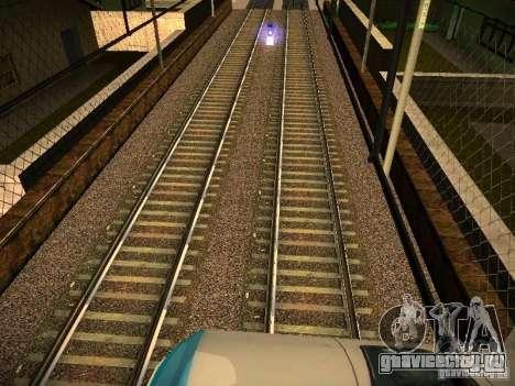 Новые рельсы для GTA San Andreas седьмой скриншот