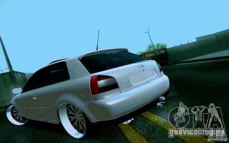 Audi A3 DUB Edition для GTA San Andreas вид слева