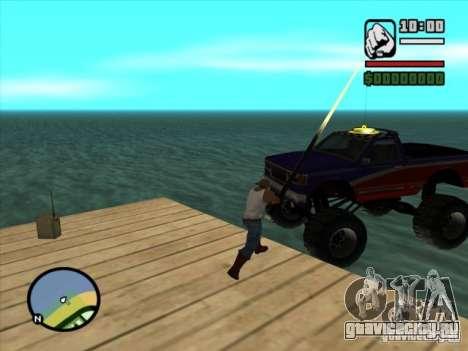 Рыбалка для GTA San Andreas третий скриншот
