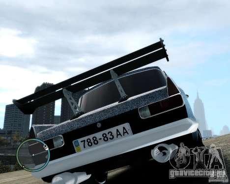 Moсквич 412 Street Racer [Alpha] для GTA 4 вид изнутри