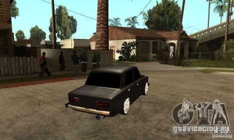 Lada ВАЗ 2106 LT для GTA San Andreas вид справа