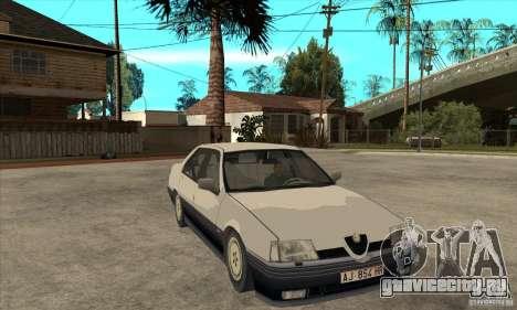 Alfa Romeo 164 для GTA San Andreas салон