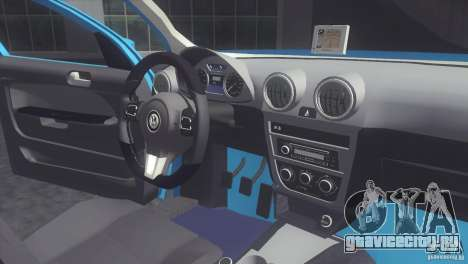 Volkswagen Voyage G6 2013 для GTA San Andreas вид справа