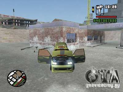 ОКА 1111 (Тюнинг) для GTA San Andreas вид слева