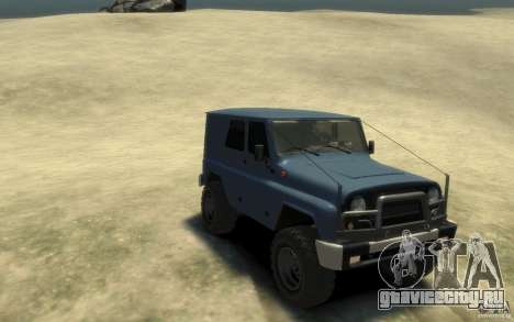 UAZ Hunter final для GTA 4 вид сзади