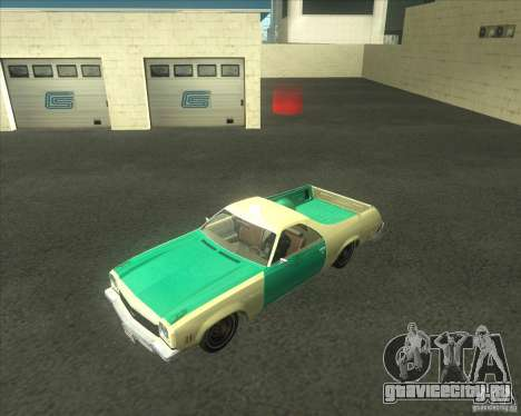 1973 Chevrolet El Camino (old) для GTA San Andreas